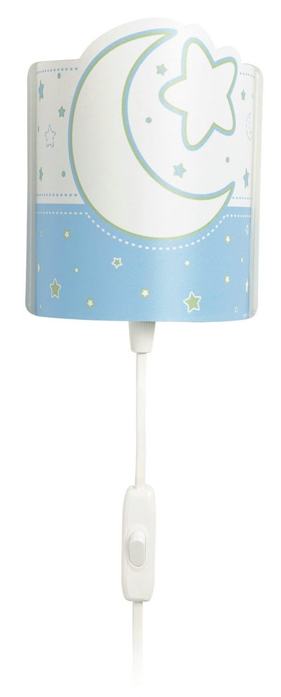 QUITAMIEDOS Luna to Lamp childish Wall Lamp