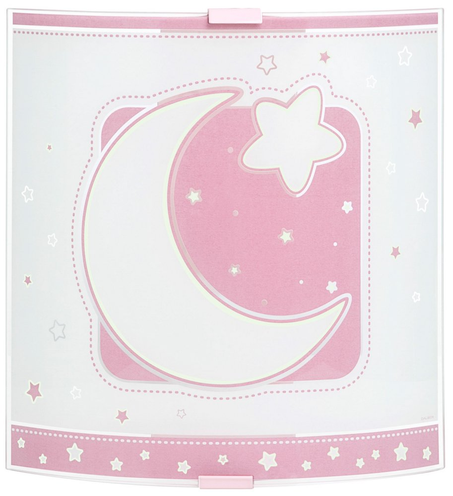 LUNA pink Lamp childish Wall Lamp