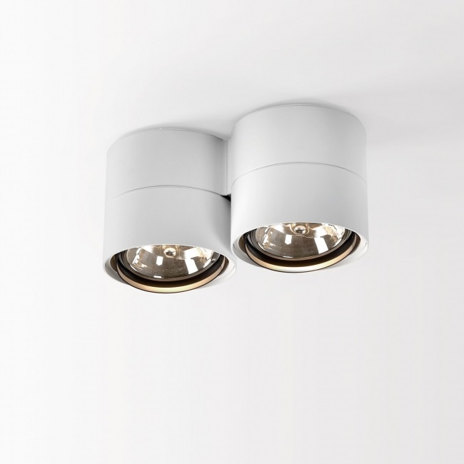 Link 211 W 2x2x ceiling lamp adjustable