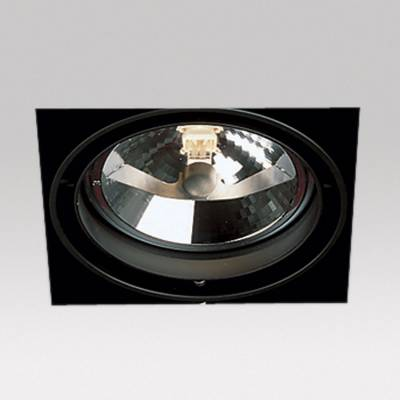 Grid IN Trimless 1 QR Frames Recessed 1xG53 100w white