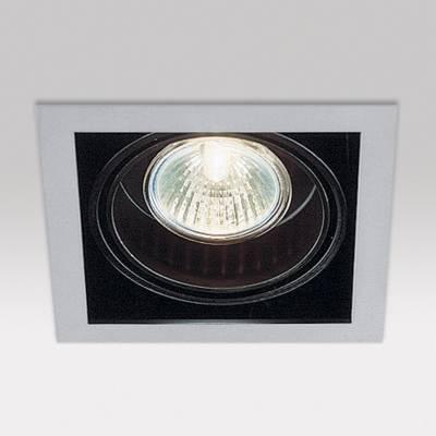 Minigrid in 1 50 Frames Empotrables GU5.3 1x50w Aluminio Aluminio