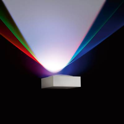 Vision S Wall Lamp Técnico RGB 3xPowerLED 2w W white