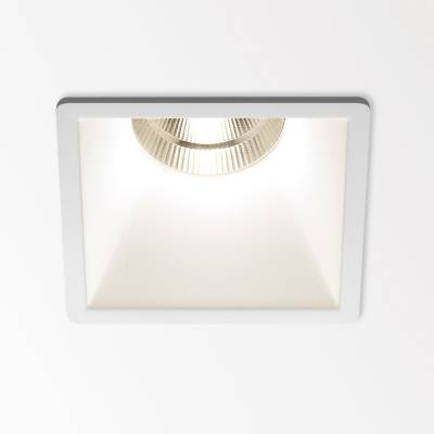 Deep Ringo S1 Recessed 7,9cm LED 1x7w 3000K Reflector 33º CRI>80 Black