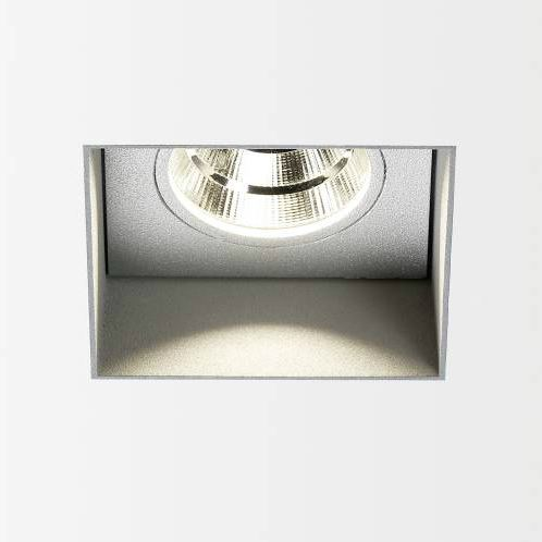Carree Trimless LED 3033 S1 Aluminio gris