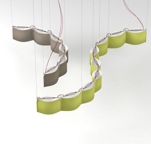 Laola Lámpara Colgante 9 Grande LED