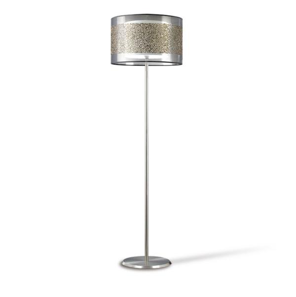 Nona lámpara de Pie Material rígido