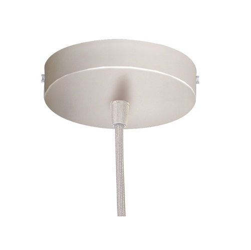 Pendel Round white C.Transp, TECH30