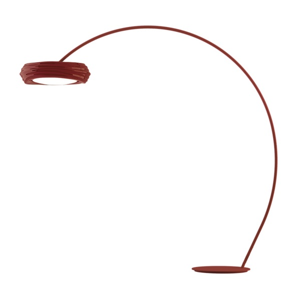 Tuareg lámpara de Pie Rojo