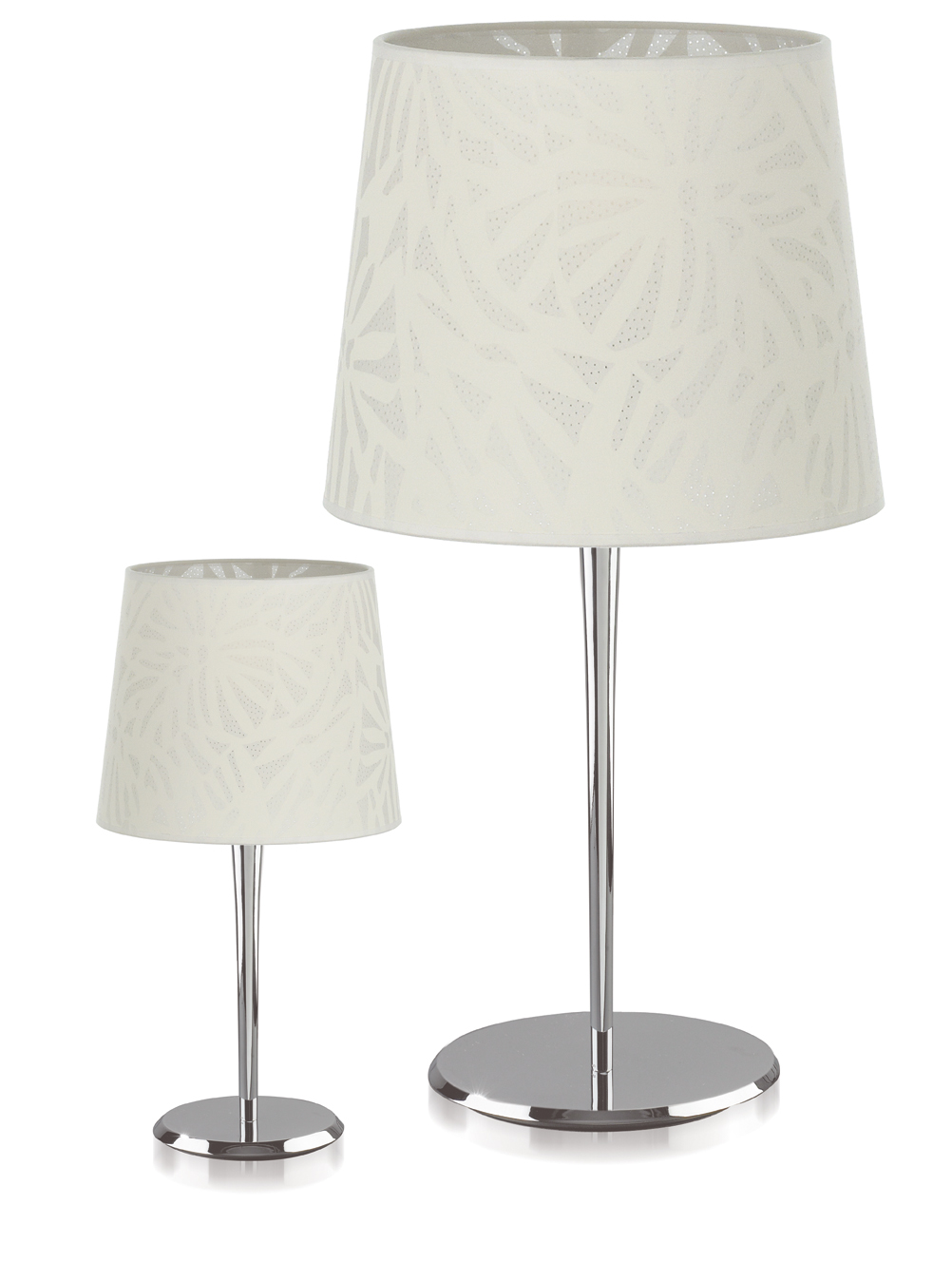 Donna Table Lamp Small 1xE27.Tejido lampshade type to Algodon