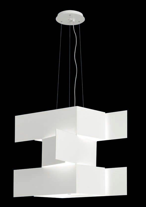 Shadow T 2935 Pendant Lamp 2G11 2x55W white
