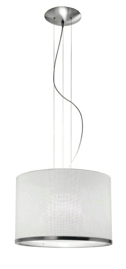 Doppia T 2557 Lámpara Colgante negro
