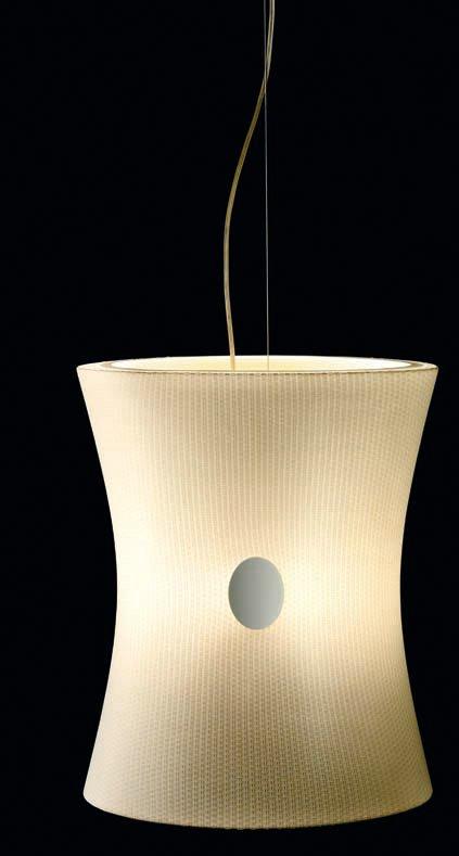 Cameo cameo T 5605 Pendant Lamp níquel Matt white lampshade