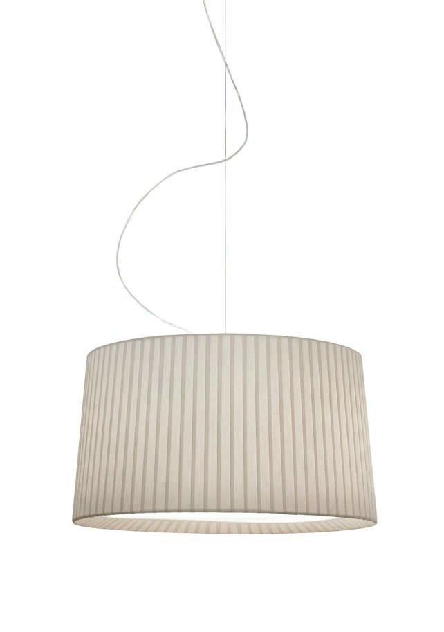 Maiden T 2825 Pendant Lamp Niquel white lampshade