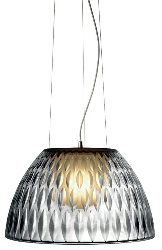 E-Llum T 5655 large Pendant Lamp Nickel mate