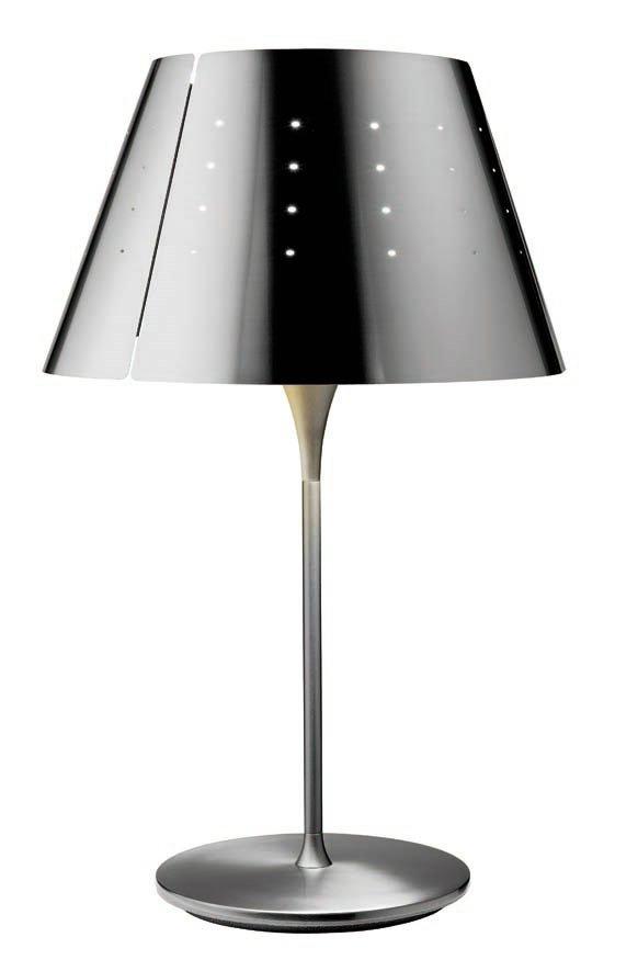 Quepi due M 5737 Table Lamp Nickel mate