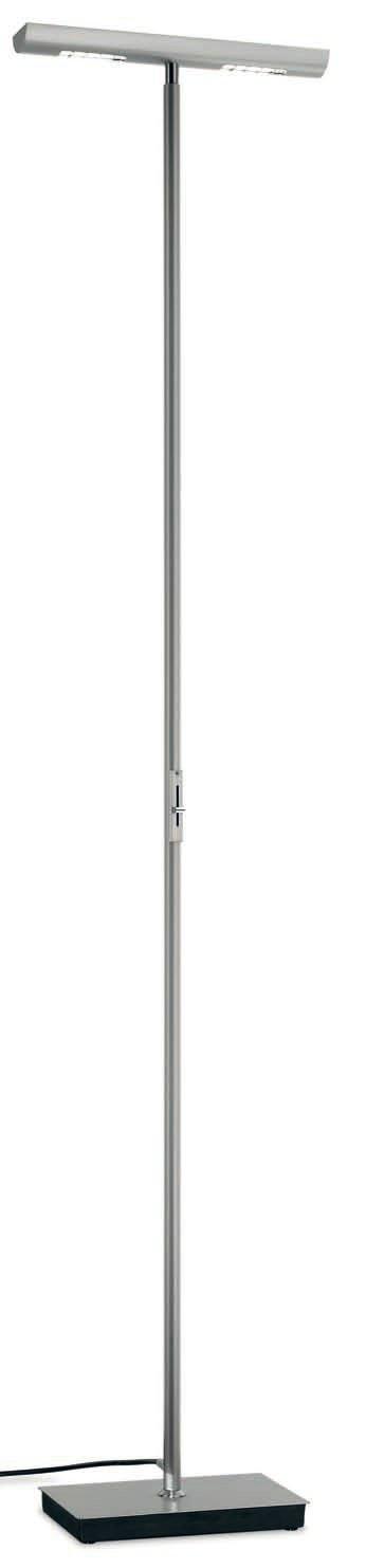 P 2455 lámpara von Stehlampe 2xR7s 150w Chrom