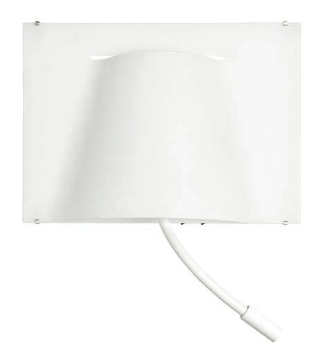 Carpet zu 2911 Wandleuchte LED Lesestoff weiß