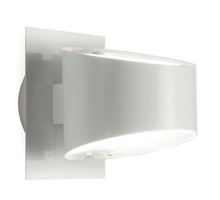 Mikonos to 2520 Wall Lamp white Shiny