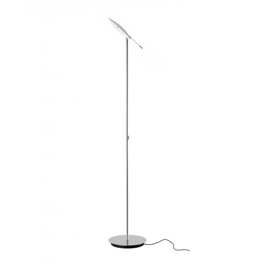 Moon P 3008 lamps of Floor Lamp cable Black Chrome