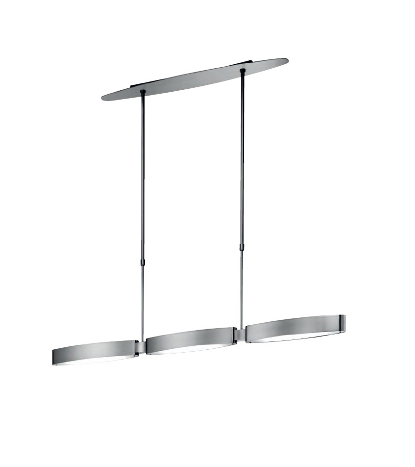 Venezia T 2535 Suspension 93,4cm R7s 3x130w Nickel