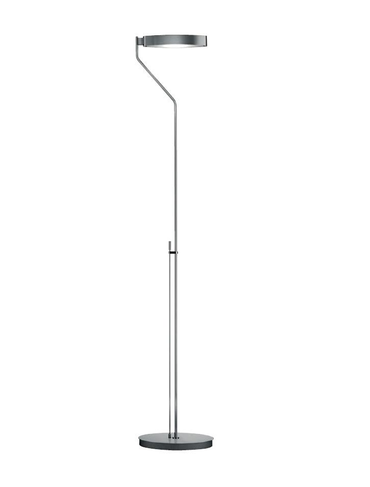 Venezia P 2538 lámpara de Pie 185cm R7s 200w Níquel