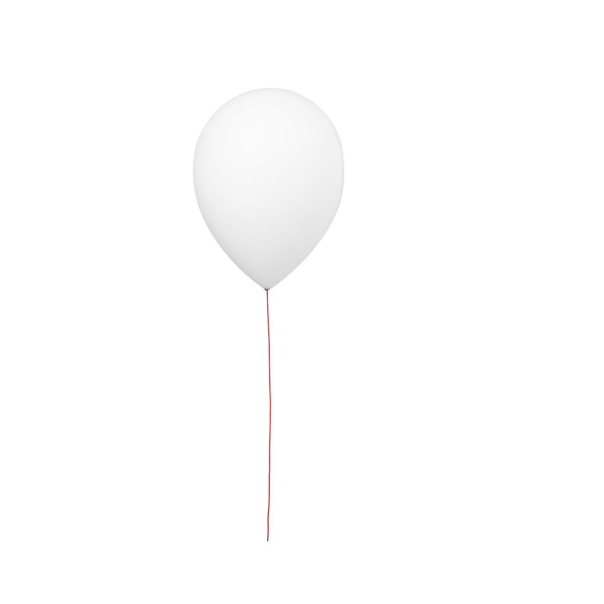 Balloon A 3050L Aplique 26cm E27 20w + LED E14 0.5w blanco
