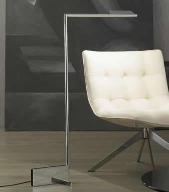 Kant P 3268 lámpara of Floor Lamp LED 8w Chrome