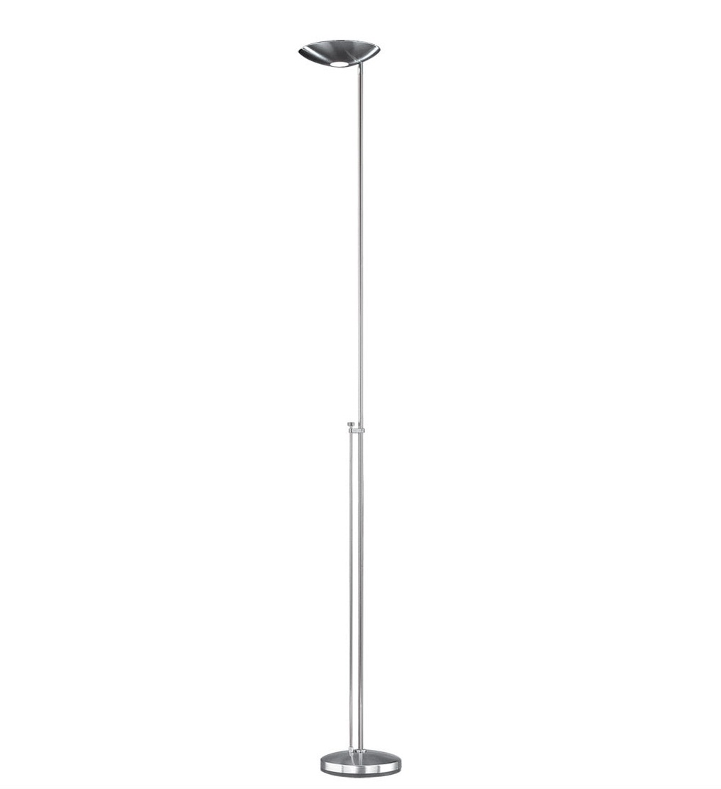 P 1129 Lámara of Floor Lamp R7s 1x200w dimmable Black