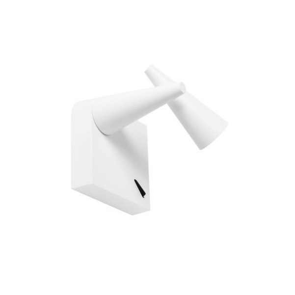 Cornet to 3330 Wall Lamp Small LED - white mate