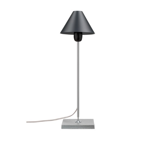 Gira 1978 Table Lamp Black Anodized
