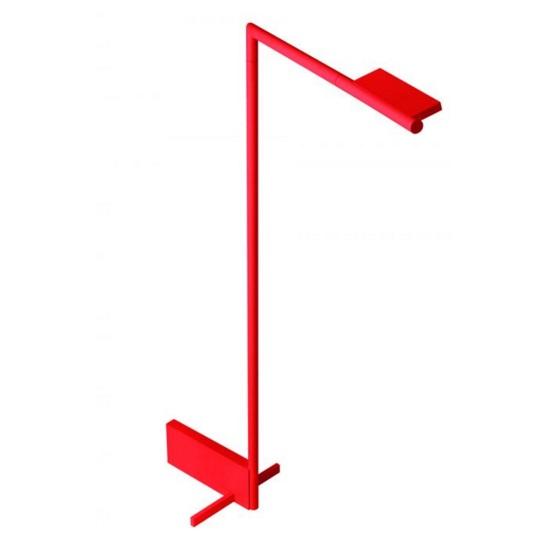 Kant lâmpada de Lâmpada de assoalho Vermelho