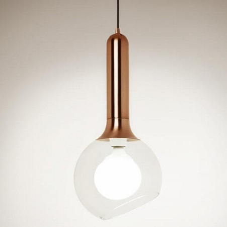 Luck T 2443 lamp Pendant Lamp Bronze