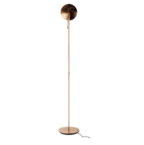 Moon P 3007 lamp of Floor Lamp Copper/Black mango