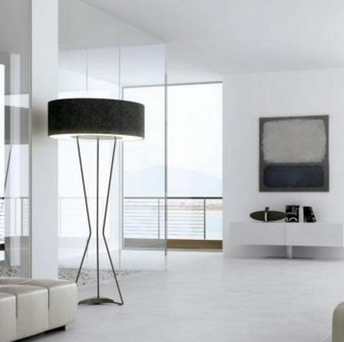 Testa P 2819 Floor Lamp Black