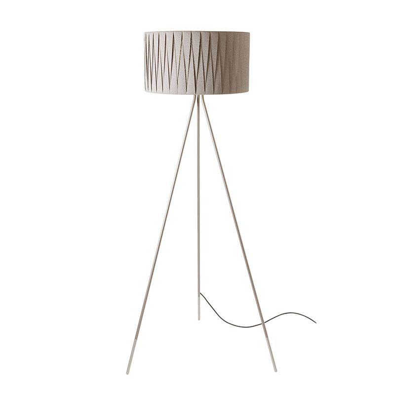 Twili P 3349 lámpara of Floor Lamp lampshade ceniza