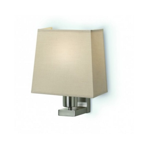 Firenze Wall Lamp IP20 E27 23W Nickel Satin