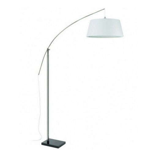Spin Lampadaire dimmable E27 60W Chrome