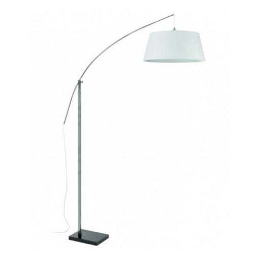Spin lámpara de Pie regulable E27 60W Cromo