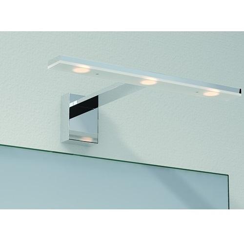 Tiel Aplique IP44 LED 3*3W 720lm 3000K Cromo
