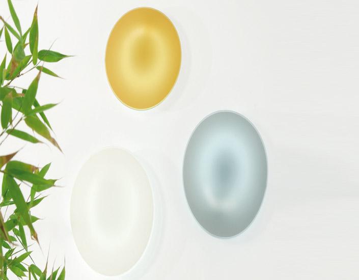 Hoop Glass Plafón G10Q 1x32W blanco con triple Cristal