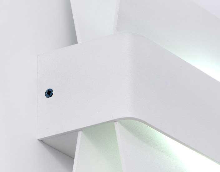 Wings Aplique Lineal T5 1x24w negro