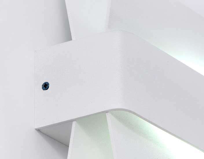 Wings Aplique LED 1x6w blanco