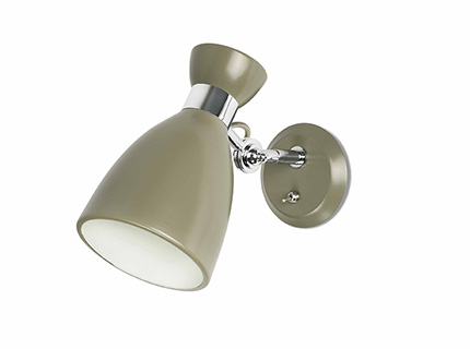 Retro Wall Lamp Green E14 20w