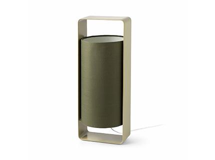 Lula G Table Lamp E27 20w Green lampshade Green