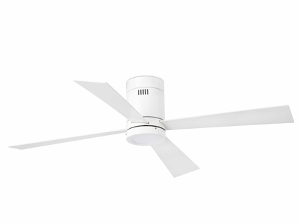 Timor Fan ø132cm 4 blades LED 12w white