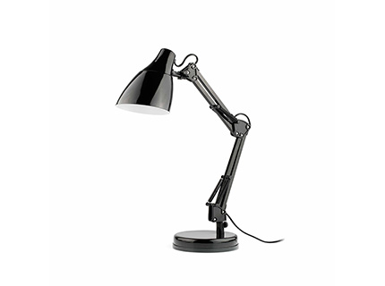 Gru Balanced-arm lamp Black 1xE27 11w