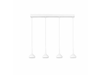 Tempo 4 Pendant Lamp white LED 32w 3000K