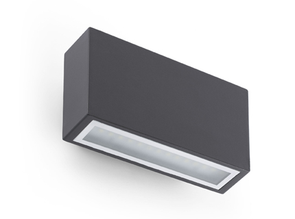 Tane Wall Lamp Grey Dark LED 6w 3000K