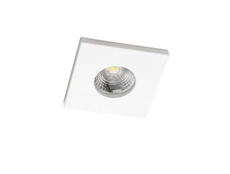 Compac Square Recessed white LED 15w 3000K 36º