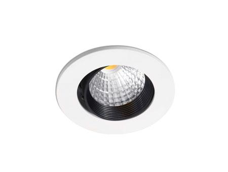 Nusa Recessed white LED 7w 2700K 38°